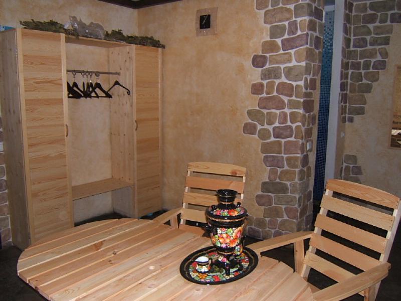 russisches banja die sauna mit dem russischen flair. Black Bedroom Furniture Sets. Home Design Ideas
